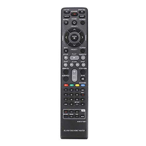 Neuer VINABTY Ersatz AKB73775801 Fernbedienung FÜR LG Blu-ray Disc Heimkino BH5140S BH5140 LHB655 BH4030S BH6530TW BH5440P LHB655FB