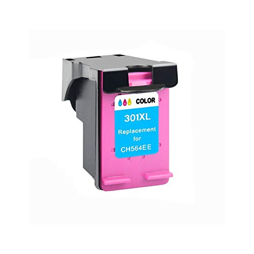 WTBH Cartucho de Tinta Reemplazo para HP301 para HP 301 XL Compatible para HP 2510 3510 D1010 1510 2540 4500 1050 2050 2050S Impresora Reemplace el Cartucho de Tinta (Color : 1CL)