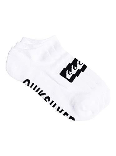 Quiksilver 3 Pack - Ankle Socks - Knöchelsocken - Männer - ONE SIZE - Weiss