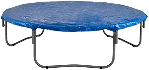 WXking 6FT 75FT 8FT 10FT 11FT 12FT 13FT 14FT 15FT CUBIERTA DE TRACHOLINA DE 16FT DE 16FT - A prueba de agua y cubierta UV para el tiempo, viento, protección de la lluvia de trampolines redondos de tod