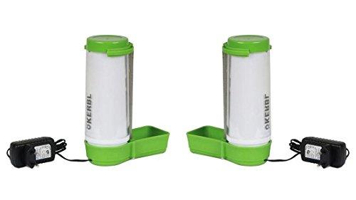 2 Kleintiertränken beheizbar jeweils 330 ml