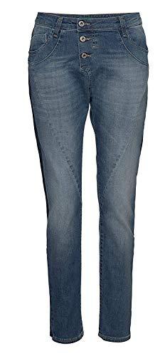 Please Jeans Damen Boyfriend P78A Dark Blue (S (38))