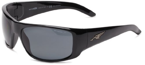 Arnette Herren 0AN4179 41/81 66 Sonnenbrille, Schwarz (Black/Polargray)