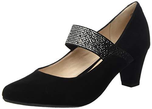 Gerry Weber Shoes Damen Lena 28 Riemchenpumps, Schwarz (Schwarz 100), 41 EU