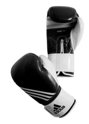 adidas Boxhandschuhe Fitness schwarz/Weiss, 12 OZ