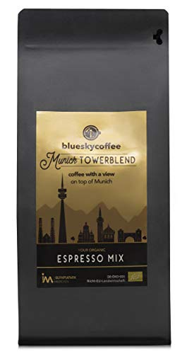 organic Espresso Mix - Munich TowerBlend, Olympiaturm-Kaffee, 1000g