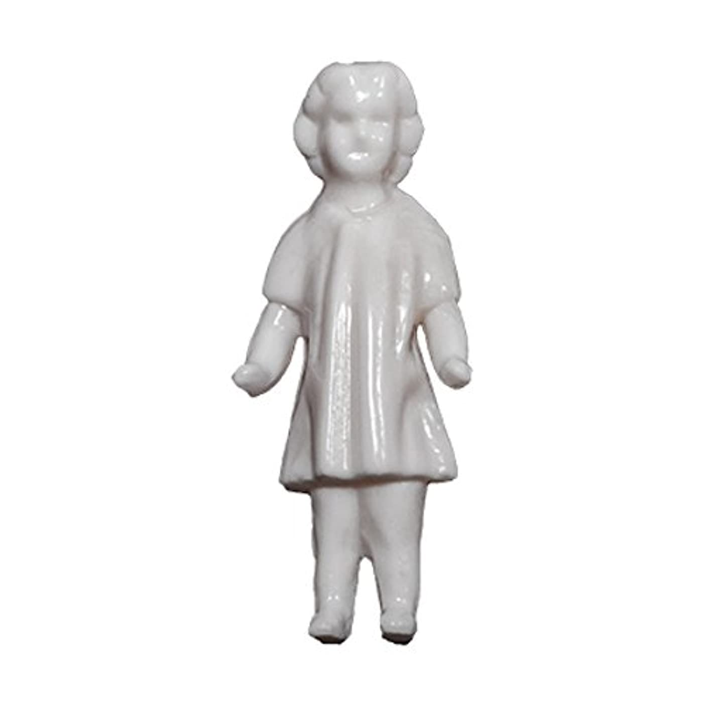 Salvaged Dolls by Tim Holtz Idea-ology, Pack of 3, 1.75 Inches Tall, White, TH93196