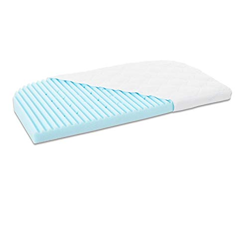 Babybay Mattress Medicott Wave Suitable For Model Maxi, BoXSpring And Comfort Plus, bianco, passend für Modell und