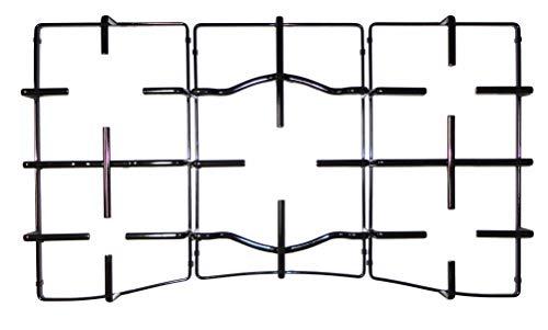Ariston Hotpoint Indesit Kit 3 griglie in ferro smaltato nero lucido per cucina piano cottura PC750 5 fuochi - C00303486 - C00303487 - C003034488 - P2776/KIT