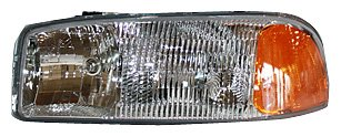 TYC 20-5568-00 Compatible with GMC Driver Side Headlight Assembly
