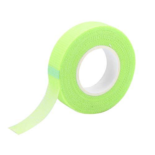 Josopa Ruban de Cils 2 Rouleaux de Ruban Adhésif pour L'extension de Cils Individuels Ruban de Tissu de Papier Blanc pour La Fourniture D'extension de Cils