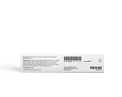 beecraft® Propolis Zahncreme 50ml | Medizinische Mundpflege mit Kamille & Salbei | Ohne Fluorid | Beugt Mundgeruch, Parandontose und Zahnfleischproblemen vor | Vegetarisch & Laktosefrei