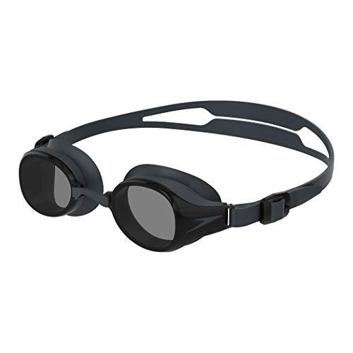 Speedo Hydropure Optical Gafas de natación, Unisex-Adult, Negro/Smoke, 3.5