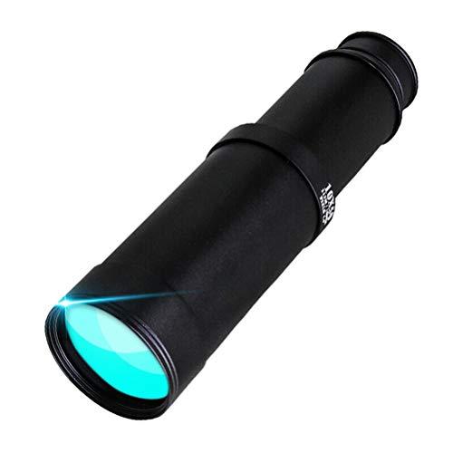 LALAWO Wangyuanjing Télescope Monoculaire Haute définition, Vision Nocturne Basse lumière Non Infrarouge, Miroir extérieur pour Oiseaux 10X50