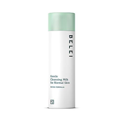 Marca Amazon - Belei Leche limpiadora suave para pieles normales, 200ml