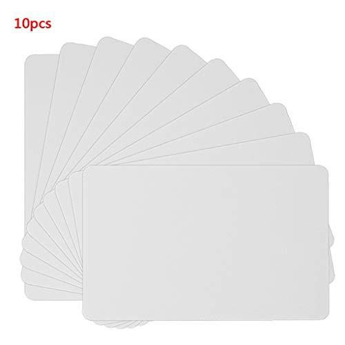 NFC NTAG215 weiße Karte für TagMo Tags Chip-Aufkleber, Tag-Lable Forum, Typ 2, für NFC-fähige Geräte, 10 Stück