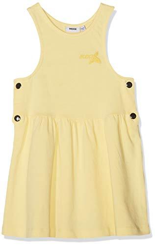 Mexx Mädchen Kleid, per Pack Gelb (Pale Banana 120824), 116 (Herstellergröße: 110-116)