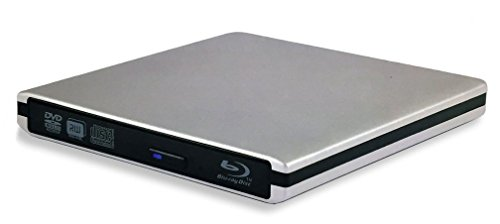 MCE Super-BluDrive, Blu-Ray Player and SuperDrive for Mac, USB 3.0, USB-C, Includes Mac Blu-ray Player Software!