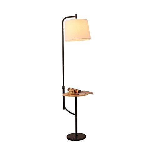 Luz de pie interior elegante y moderna, lámpara de pie LED, pantalla...