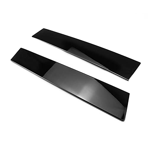 FEXON 926-448 926-449 Driver and Passenger Side B Pillar Molding Without Keypad for 2011-2016 Ford Models, Gloss Black