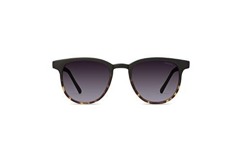 Komono Francis Monturas de gafas, Negro (Matte Black/marron Tortoise), 50 para Hombre