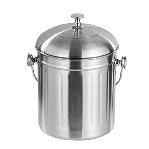 SHYOD Enfriador de Vino Aislado con Tapa de Transporte de Mango Casa de Gran Capacidad Casa de Hielo Bucket de Hielo Club de Acero Inoxidable