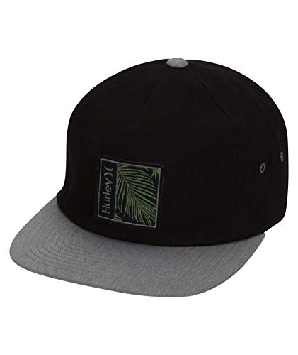 Hurley M Seapoint Hat Gorra, Hombre, Black, 1SIZE