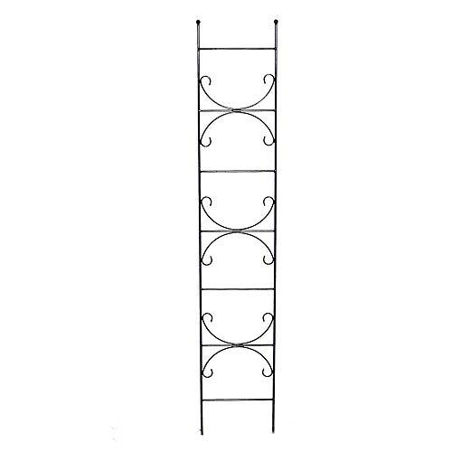 TrendLine Spalier 180 cm dunkelgrau Rankhilfe Rankgitter Rankwand