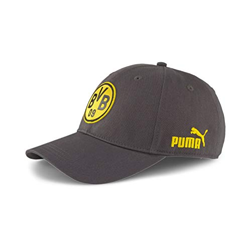 PUMA Borussia Dortmund Kappe BVB ftblCulture Baseball Cap 022737 Asphalt One size