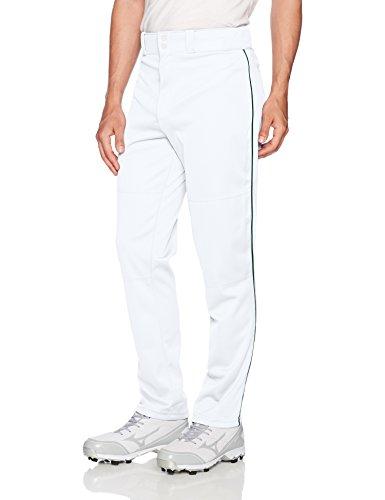 WILSON Baseballhose für Herren, klassisch, Relaxed Fit, Herren, Weiß/Dunkelgrün, Small