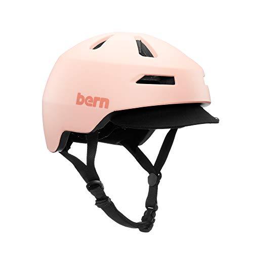 Bern Brentwood 2.0 Casco de Ciclismo, Unisex, Rubor Mate, M
