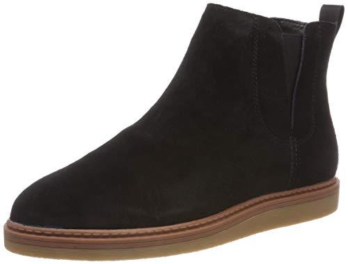 Clarks Damen Dove Madeline Chelsea Boots, Schwarz (Black SDE), 39 EU