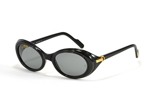Cartier Occhiali da sole Vintage Frisson T79078 nero con lenti grigie