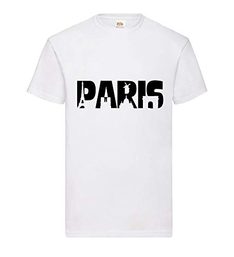 Paris Skyline mannen T-shirt - shirt84.de