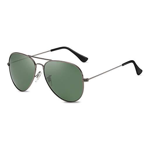 LumiSyne Retro Gafas De Sol Para Hombre Mujer Estilo Piloto Gafas Polarizadas Protección UV 400 Lente Espejo Marco De Metal Para Conducir Viajar ⭐
