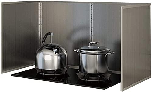 Protector Salpicaduras Cocina Protector de salpicaduras de aceite plegable Protector de salpicaduras antiadherente de cocina Protector de cocina de gas resistente a salpicaduras limpio HSWYJJPFB splat