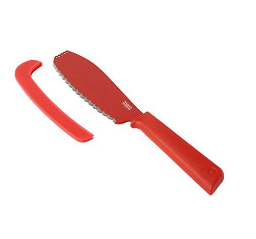 Kuhn Rikon Rouge 23059 Colori+ Couteau à Sandwich