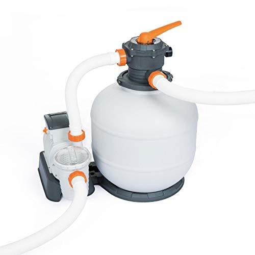 Bestway Flowclear Pool Sandfilteranlage, mit Zeitschaltuhr und integriertem ChemConnect-Dosierer