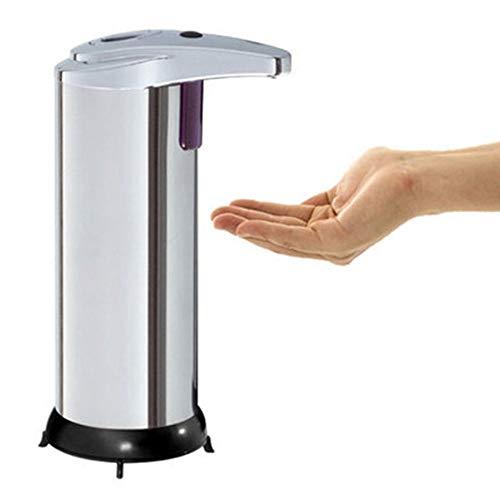 Dispensador de jabón loción Soap Dispenser Dispensador automático del jabón, dispensadores de jabón sin contacto del sensor de movimiento 250ML para el cuarto de baño, cocina para Baños Cocinas Hotele