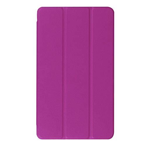 Custodia ultra sottile per Huawei MediaPad M3 8.4 BTV-W09 BTV-DL09 custodia protettiva in pelle PU protettiva per tablet-viola