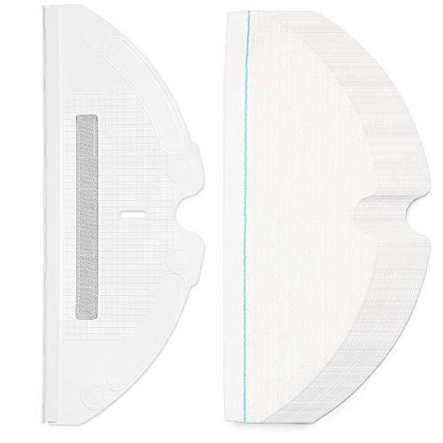roborock wegwerfbarer Wischtuch für S6, S6 MaxV, S6 Pure, E4, S5 Max, S5, E35 und E2 Roboterstaubsauger, 30 Stk.
