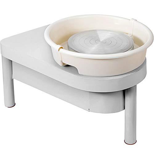 YGLONG Torno De Alfarero Máquina de formación de cerámica de 25 cm...