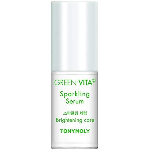 Tonymoly - Green Vita C Sparkling Serum, Sérum Facial Con Vitamina C, 30ml