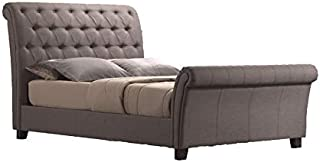 Best tufted queen sleigh bed Reviews