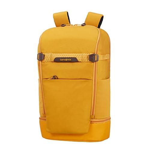 Samsonite Hexa-Packs Zaino per Laptop L, 50 cm, Giallo Scuro