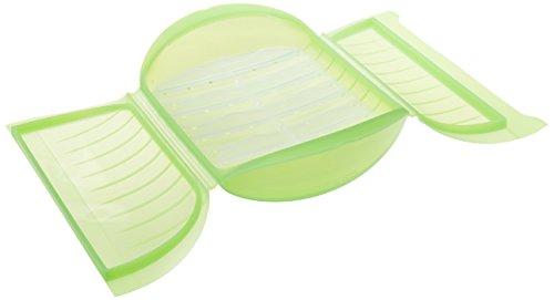 Papillote silicone 3 à 4 personnes verte