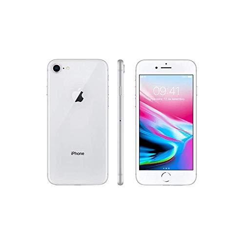 Iphone 8 Apple Prata, 256gb Desbloqueado - Mq7d2br/a