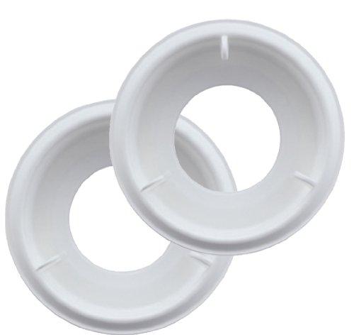 MAM Anti-Colic Bodenventil im 2er-Set, innovatives Bodenventil gegen Koliken, Ersatzventile für MAM Anti-Kolik Babyflaschen, ab der Geburt, weiß