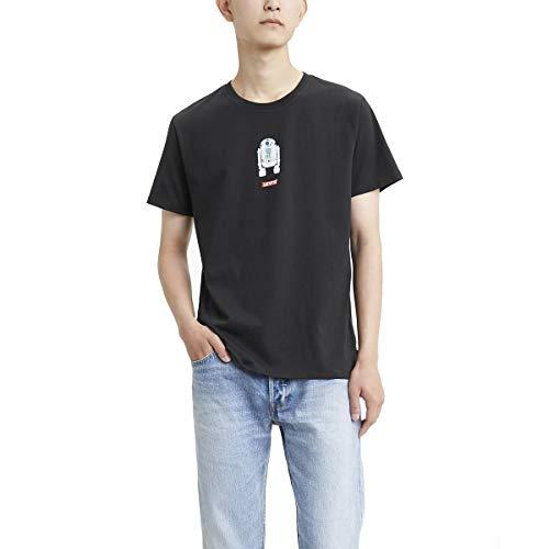 Levi's Star Wars X Levis. Graphic Tee Camiseta para Hombre, color R2D2 Black, M