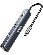 Anker PowerExpand 6-in-1 USB-C PD イーサネット ハブ PD 65W USB-Cポート 4K HDMIポート 1Gbpsイーサネットポート USB3.0ポート搭載 MacBook Pro, MacBook Air, iPad Pro用